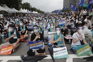 As COVID-19 Surges in South Korea, Doctors Are Furious Over Government Training Plan