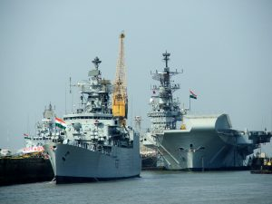 Indian and Russian Navies Begin Exercise in the Bay of Bengal