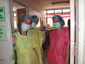 Filipino Health Workers Protest Overseas Work Restrictions