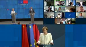 China, EU Leaders Hold 'Intense' Virtual Meeting