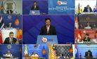 ASEAN Kicks Off Cluster of Virtual Summits