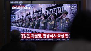 North Korea's No-Mask Military Parade Angers South Korea