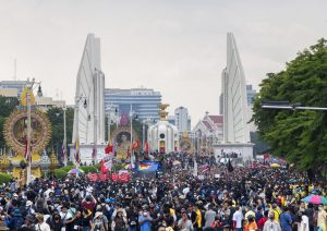 Thai Democracy Protesters March Despite Police, Rival Groups
