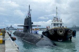 Japan Launches New Submarine Class