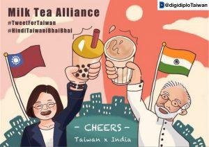 The Taiwan–India 'Milk Tea Alliance'