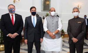 India and US Hold Third Annual Defense and Foreign Ministers' Dialogue