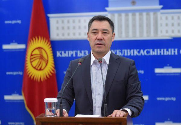 El gabinete kirguiso de Japarov: el diplomático