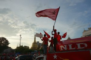 Unofficial Count Gives Aung San Suu Kyi's Party Victory in Myanmar