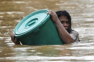 Typhoon-Ravaged Northeast Philippines Pummeled by New Storm