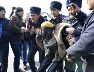 Police Disruption of Women's Day March Illegal, Kyrgyz Supreme Court Rules