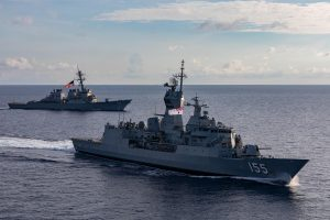US Destroyer Conducts FONOP Against Russian Claims in Sea of Japan