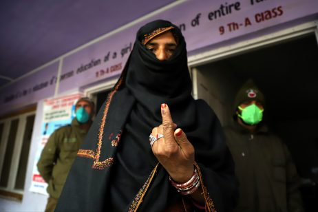 After Losing Special Status, Kashmiris Come Out to Vote