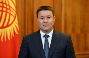 Acting Kyrgyz President Mamytov Visits Moscow