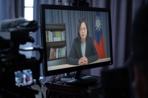 Taiwan's President Makes the (Virtual) Rounds at DC Think Tanks