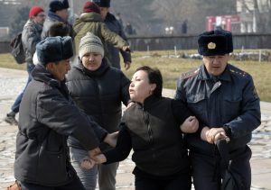 In the Face of Violence, Kyrgyz Woman Continue to Struggle for Justice
