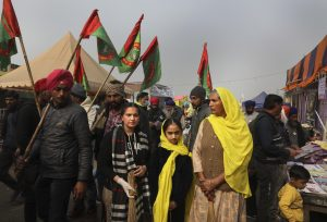 Month On, Women Hold the Fort at India Farmer Protests