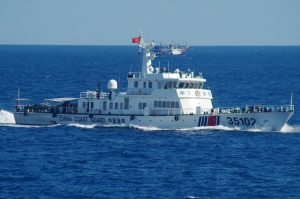 The Chinese Coast Guard and the Senkaku