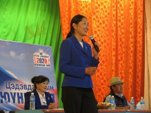 Is Mongolia Ready for a Female President?