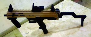 India Develops Indigenous 9 MM Machine Pistol