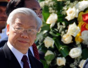 Vietnam's Communist Party Chief Reelected to Third Term