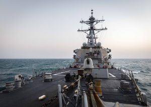 US Destroyer Conducts FONOP in South China Sea