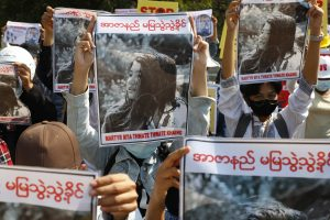 Woman Shot During Protest Against Myanmar Coup Dies