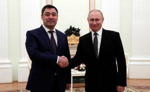 Kyrgyz President Sadyr Japarov in Russia for First Foreign Visit