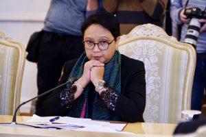 With Bangkok Visit, Indonesian FM Advances Efforts to Address Myanmar Crisis