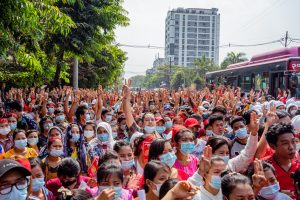 Offline and Online, Protests Are Sweeping Across Asia