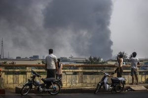 Attacks on Chinese-run Factories in Myanmar Vex Beijing