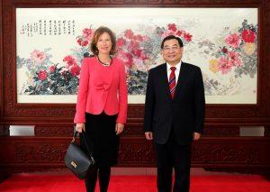 China Takes Aim at UK Ambassador Over Media Freedom Post