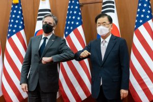 US Secretaries of State and Defense Hold Talks in South Korea