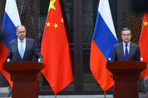 China and Russia Show Solidarity at Meeting of Foreign Ministers