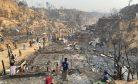 Fire Devastates Large Swathe of Rohingya Refugee Camp