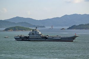 Chinese Aircraft Carrier Conducts 'Routine' Drills Near Taiwan