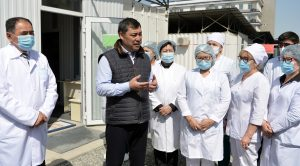 Kyrgyz President's Promotion of Poison to Treat COVID-19 Taken Down by Facebook