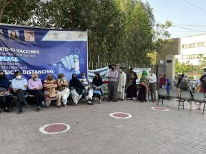 Pakistan's COVID-19 Vaccine Campaign Crawls Along