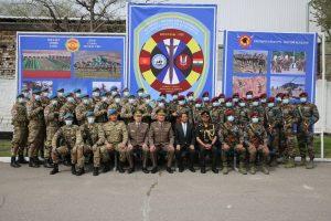 India-Kyrgyzstan Hold Bilateral Military Exercise Khanjar