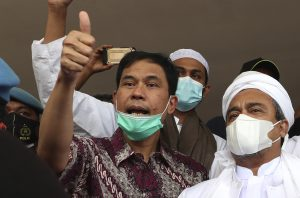 Indonesia Arrests Firebrand Cleric's Lawyer Over Attacks
