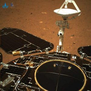 China's Tianwen-1 Lands Rover on Mars