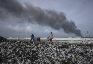 After Container Ship Fire, Sri Lanka Faces Environmental Catastrophe