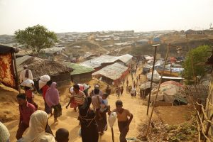 Rohingya Refugees Protest Conditions on Remote Island