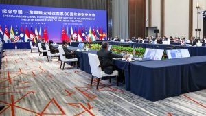 ASEAN and China Ministers Talk COVID-19, Myanmar Crisis