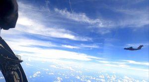 Konfrontasi in the Skies
