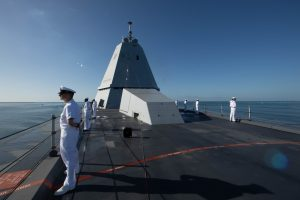 US Navy's Zumwalt Destroyers to Carry 12 Hypersonic Weapons in 2025