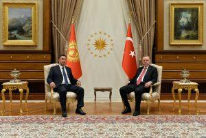 Kyrgyz President Japarov Visits Turkey
