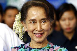 Myanmar Prosecutors Present Sedition Charge Against Aung San Suu Kyi