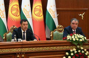 Back to Normal Diplomacy: Kyrgyz President Visits Tajikistan