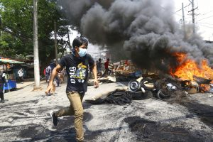 Bereft of International Support, Myanmar's Protesters Turn to Violent Resistance