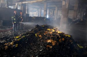 52 Dead in Bangladesh Factory Fire as Workers Locked Inside
